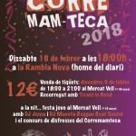 Cel·lebra el carnaval amb les colles i el Corre Mam-Teca 2018!